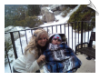 Codybear and Mommy in the snow